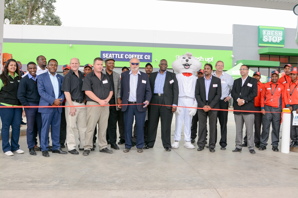 MTHATHA LOCALS WELCOME NEW FRESHSTOP AT CALTEX NORTHCREST